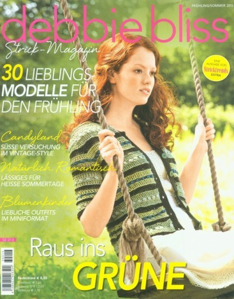 Debbie Bliss Strickmagazin Frühling/Sommer 2013
