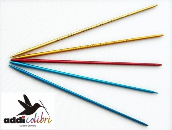 addi Strumpfstricknadel Colibri 15cm Länge