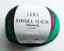 Jawoll magic degrade in weinrotgrünschwarz