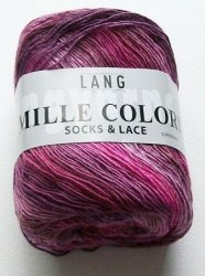 Mille colori socks & lace in rosèpinkbeere