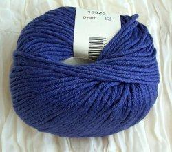 Cotton angora in blau