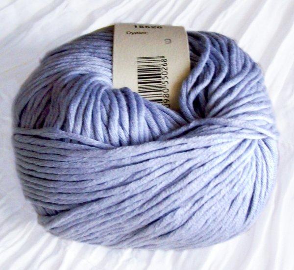 Cotton angora in hellblau