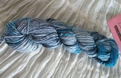 Grace hand dyed in pigeon