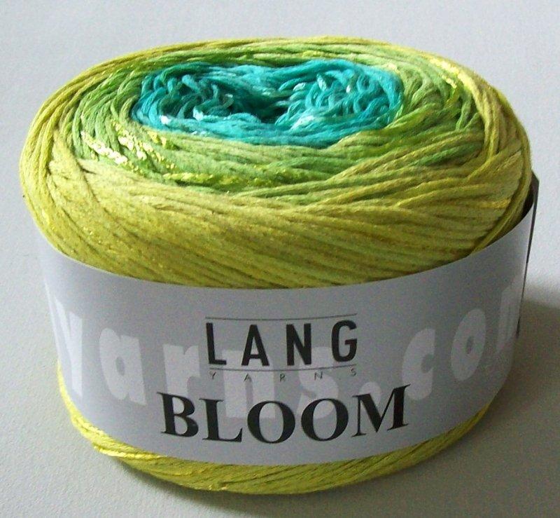 Bloom in gelbgrünsmaragd