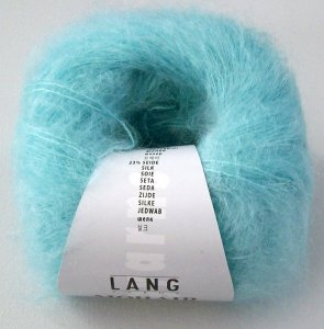 Mohair luxe in mint