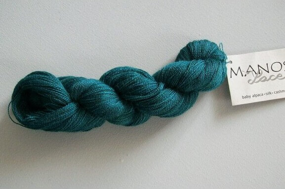 Lace in nerida teal